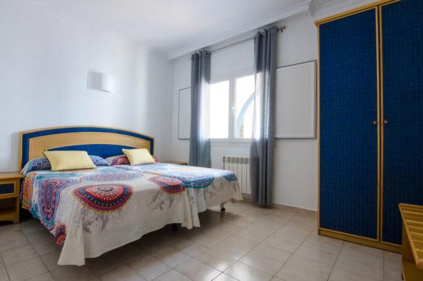 Apartamento cuatro dormitorios dormitorio - Hotel Marazul Mojácar