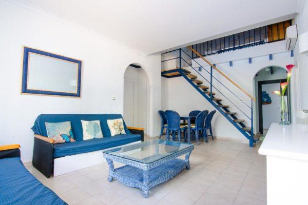 Apartamento cuatro dormitorios salón - Hotel Marazul Mojácar
