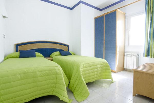 Apartamento de dos habitaciones dormitorio dos - Hotel Marazul Mojácar