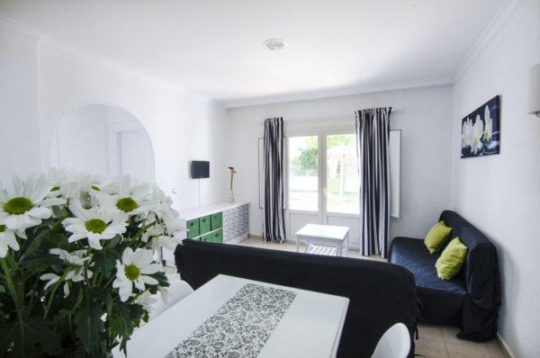 Apartamento de dos habitaciones salón - Hotel Marazul Mojácar