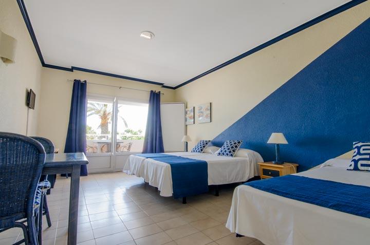 Hotel Marazul Mojácar - Estudio triple habitación